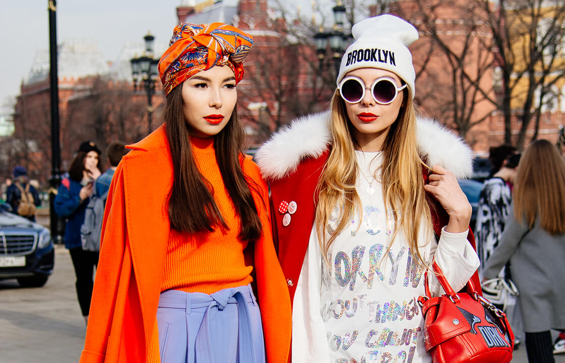 Самые интересные street-style-образы с Mercedes-Benz Fashion Week Russia